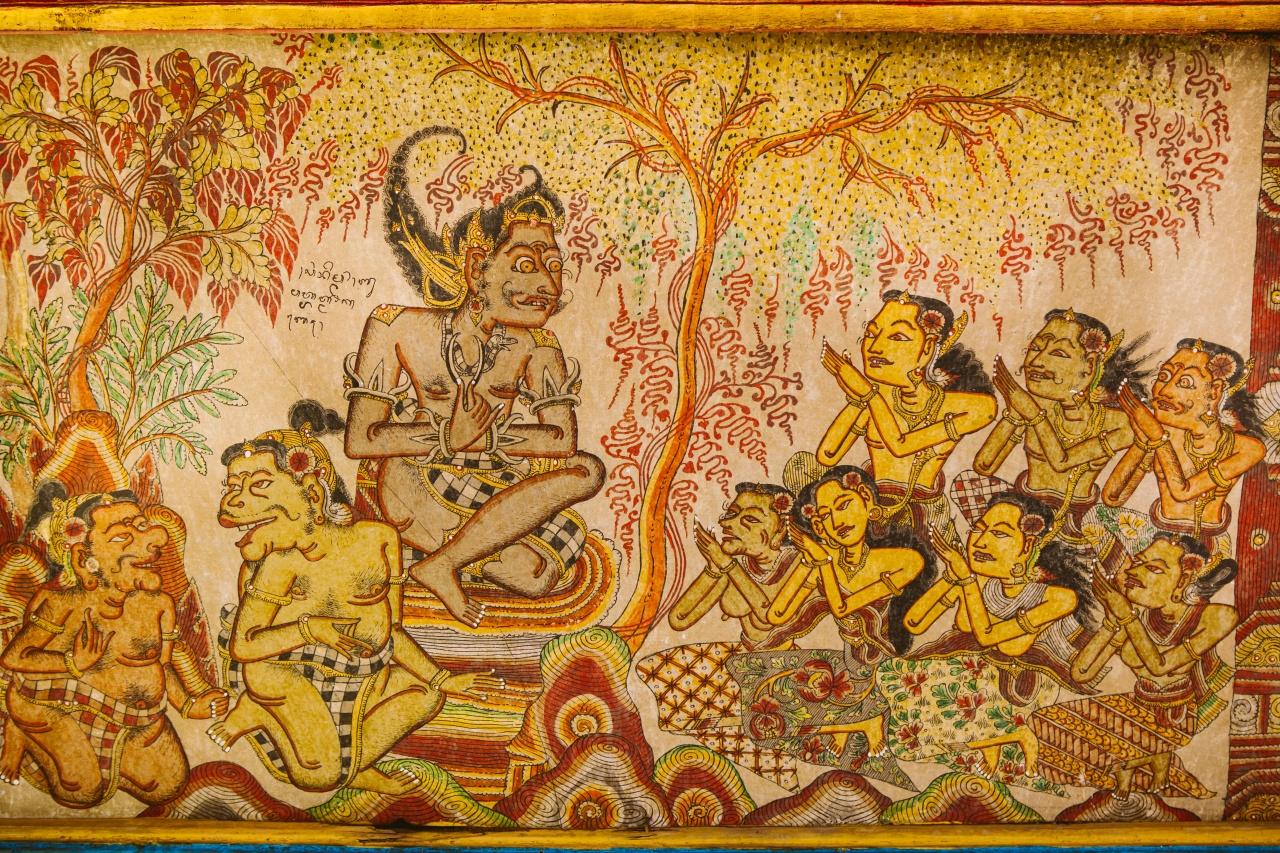 Lukisan Wayang Kamasan Berawal Dari Obsesi Where Your Journey Begins
